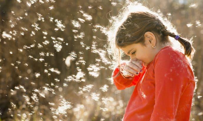 Alergia infantil de primavera: 7 consejos para proteger a tu hijo