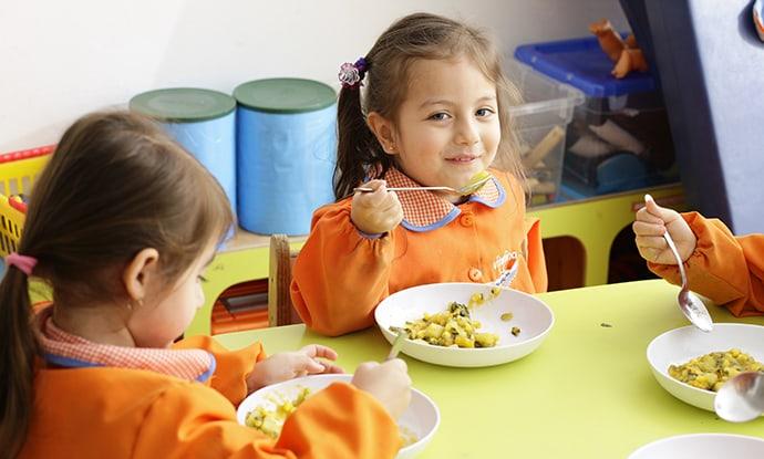 ¡La alimentación en Vitamina: el menú diario, colaciones, horarios y más!