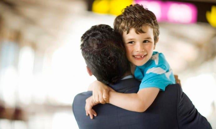 Gratitud en niños, dar las gracias