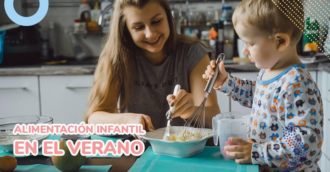 ¿Debemos hacer cambios al menú?: alimentación infantil en verano