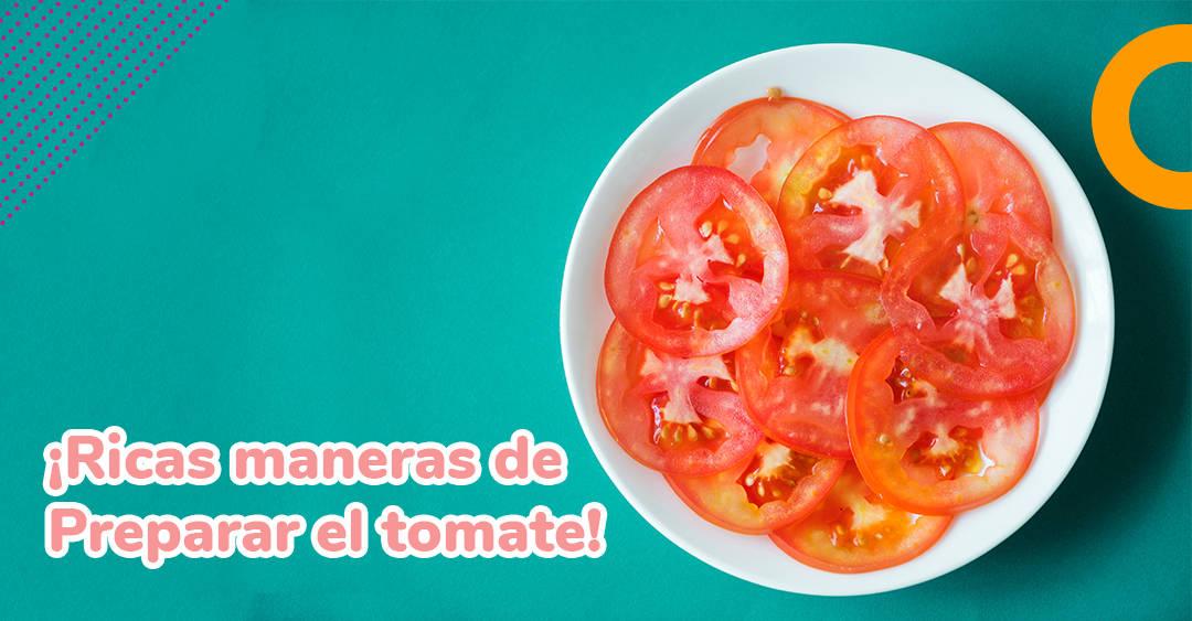 Receta saludable: ricas maneras de preparar el tomate