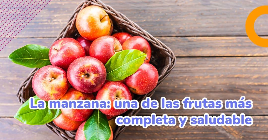 La manzana: una de las frutas más completa y saludable