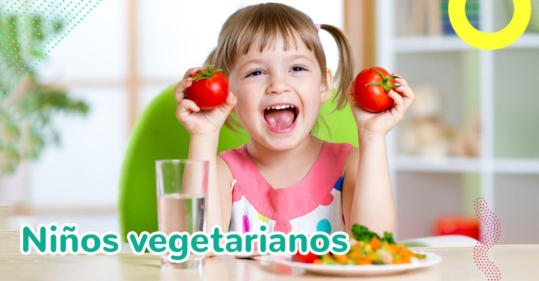 Niños vegetarianos: ¿Es saludable que los niños sigan los mismos hábitos que nosotros?