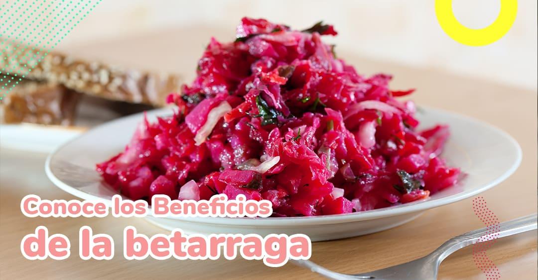 Alimento del mes Betarraga: conoce sus beneficios nutricionales