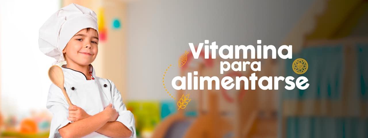 Vitamina para alimentarse: Minuta mensual