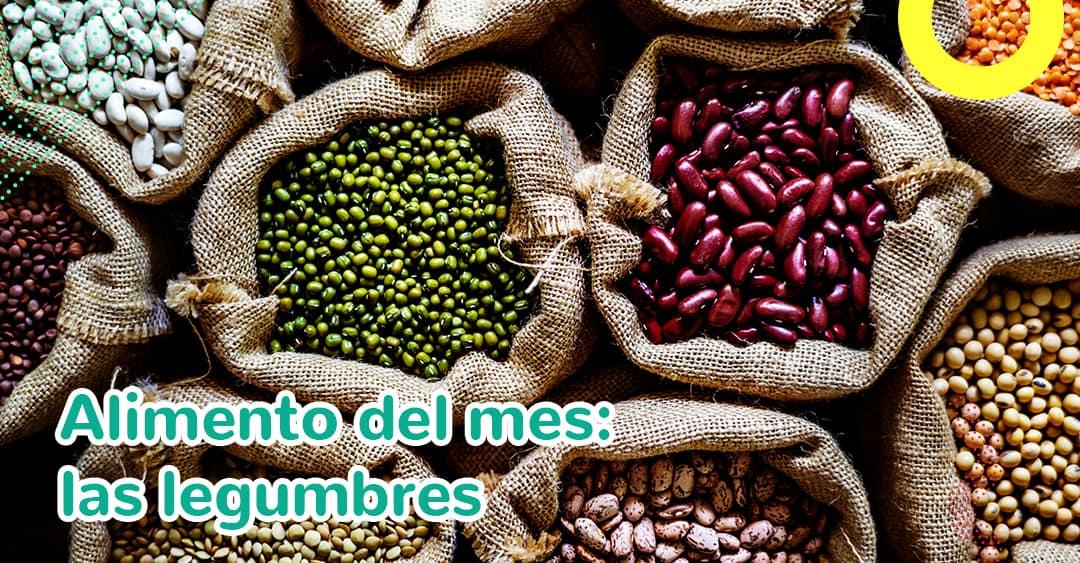 Alimento del mes: las legumbres