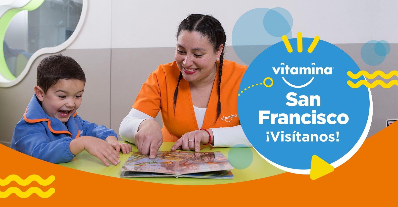 Ven a conocer Vitamina San Francisco: a pasos del metro Santa Lucía