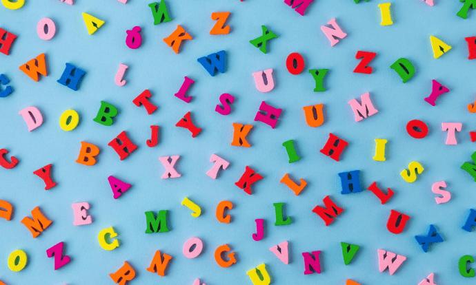 letras y vocales
