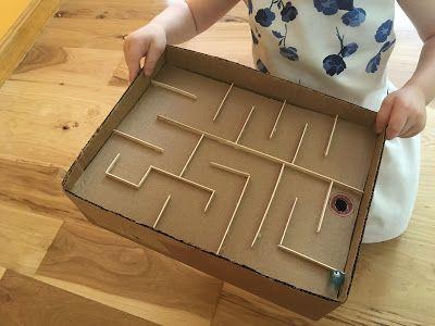 Juegos en casa con cajas para todas las edades